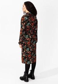 Indiska - Shirt dress - black - 2