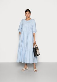 Marc O'Polo - MAXI DRESS - Maxi dress - light blue - 1