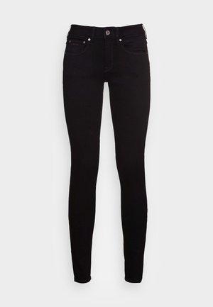 MID SKINNY  - Jeans Skinny Fit - pitch black
