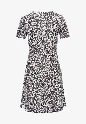 ABSTRAKTER LEO - Jersey dress - offwhite
