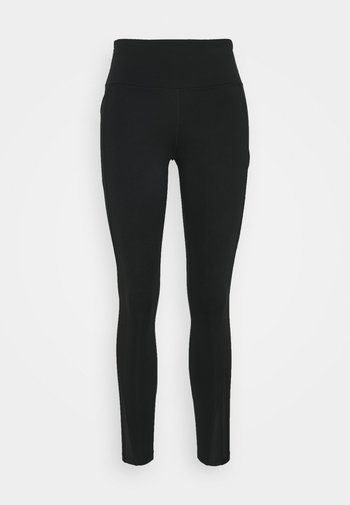 EPIC LUXE COOL - Tights - black/silver