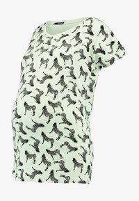 Supermom - TEE ZEBRA - Print T-shirt - smoke green - 3