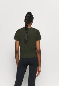 Cotton On Body - TIE UP  - Basic T-shirt - khaki - 2