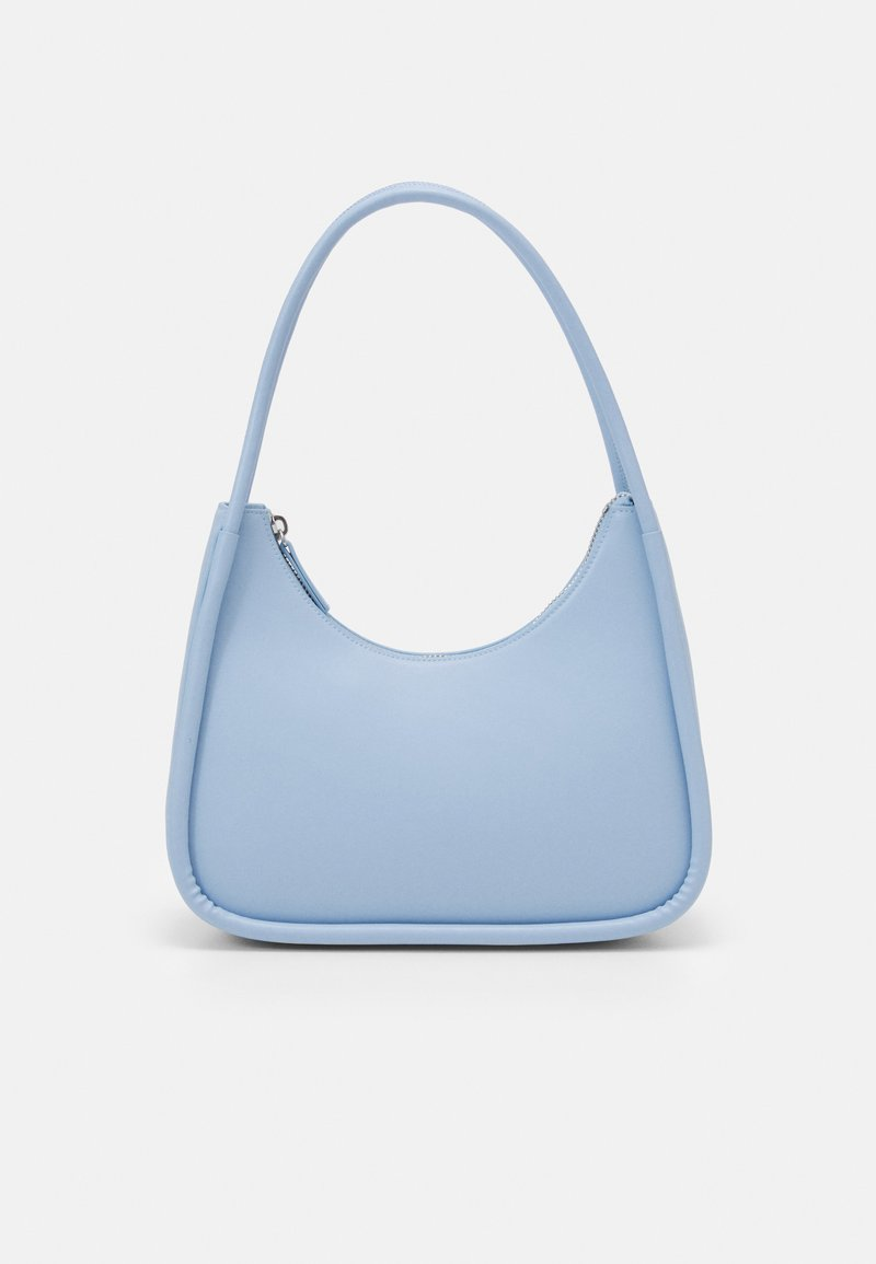 Monki - EBBIS BAG - Handbag - blue dusty light