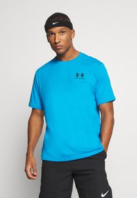 Under Armour - SPORTSTYLE LEFT CHEST - T-Shirt basic - electric blue - 0