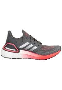 adidas Performance - Stabilty running shoes - grey five / silver metallic / signal pink - 6