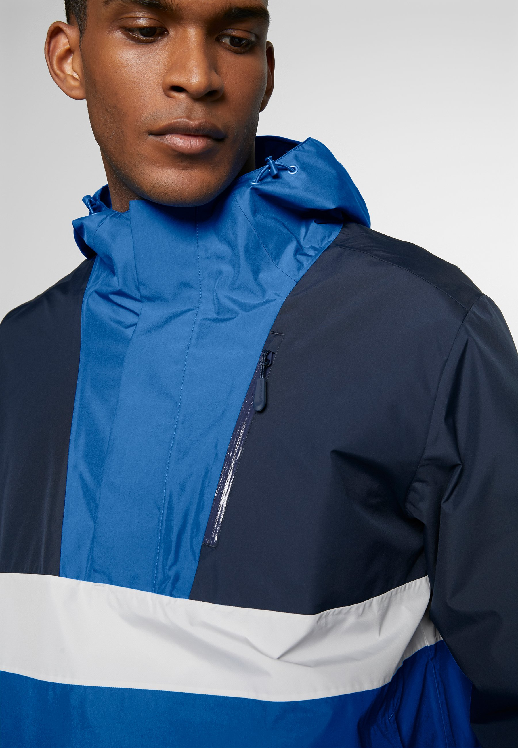 2020 Nouveau Vêtements homme Jack Wolfskin BOOSTER JACKET  Veste Hardshell azure blue fVPLUMel