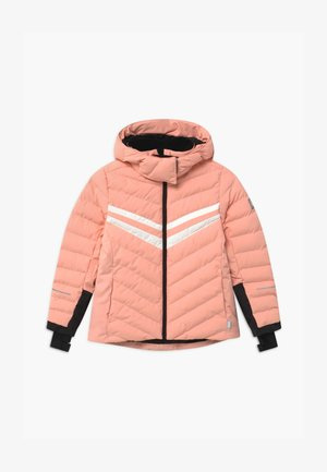 AUSTFONNA - Snowboardová bunda - powder pink