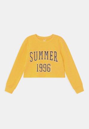 ONPMIKA GIRLS - Sweatshirt - banana/melange black