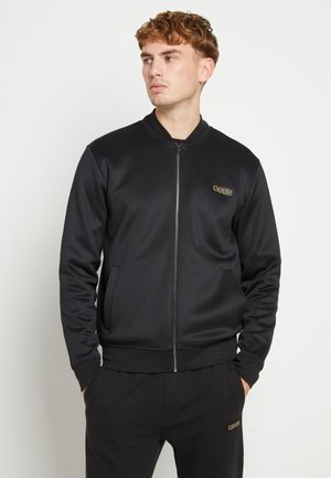 DAITO ZA - Zip-up hoodie - black/gold