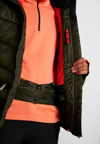 Icepeak - ELECTRA - Snowboard jacket - dark green - 5