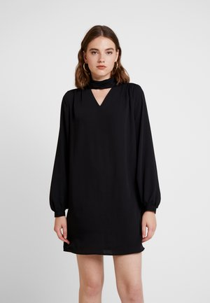 ONLBUBBA HIGHNECK DRESS - Denní šaty - black