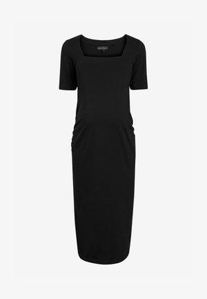 MATERNITY - Maxi dress - black