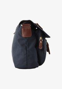 TOM TAILOR - Across body bag - blue - 3