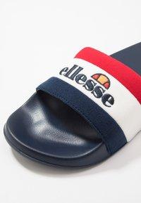 Ellesse - BORGARO - Mules - dark blue/white/red - 5