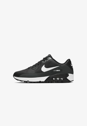 AIR MAX 90 - Golfové boty - black/white-anthracite-cool grey