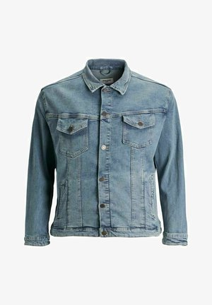 PLUS SIZE ALVIN - Denim jacket - blue denim