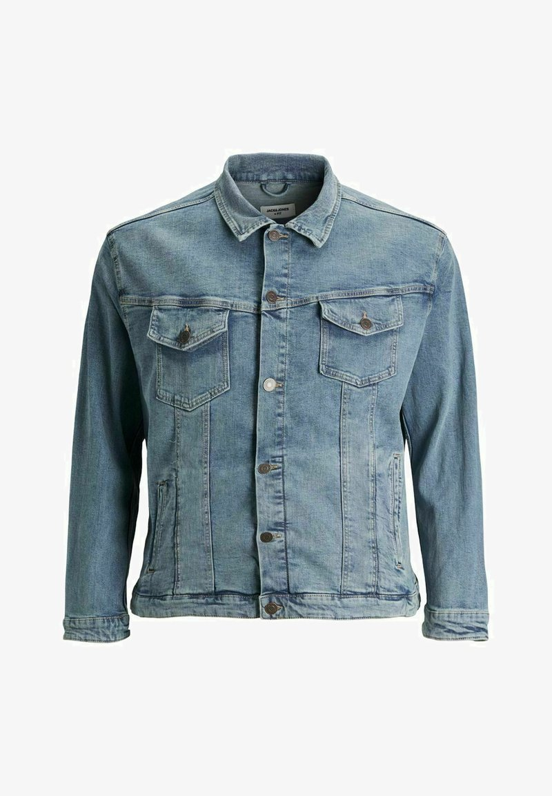 Jack & Jones - PLUS SIZE ALVIN - Veste en jean - blue denim