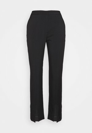 MARGRIT TROUSERS  - Kangashousut - black