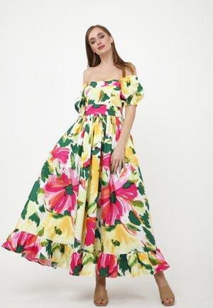 FEDERIKA - Maxi dress - gelbgrün