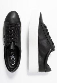 Calvin Klein - JAMELLA - Zapatillas - black - 3