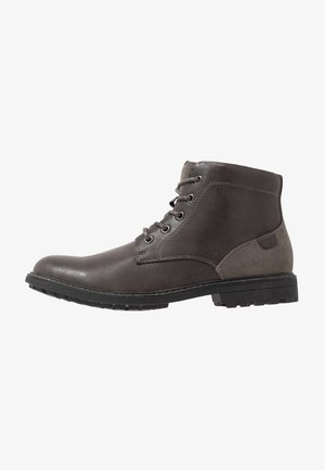PRIESTLEY WORKER BOOT - Lace-up ankle boots - grey
