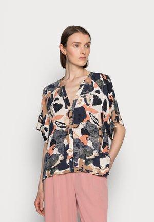 Button-down blouse - neutral big