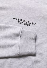 Missguided Tall - CROP AND JOGGER SET - Sweatshirt - grey marl - 2