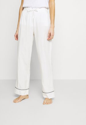 FEICI TROUSERS - Pyjama bottoms - off white