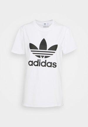 TREFOIL TEE - Camiseta estampada - white