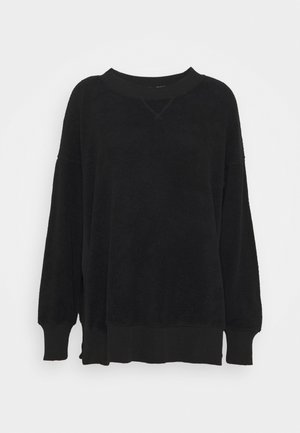 GARDEN CREW - Fleece jumper - true black