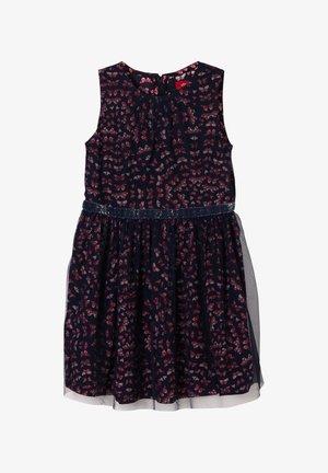 Cocktail dress / Party dress - dark blue aop
