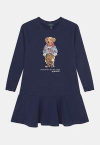 Polo Ralph Lauren - BEAR DRESS - Day dress - newport navy - 0