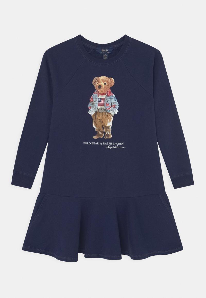 Polo Ralph Lauren - BEAR DRESS - Day dress - newport navy