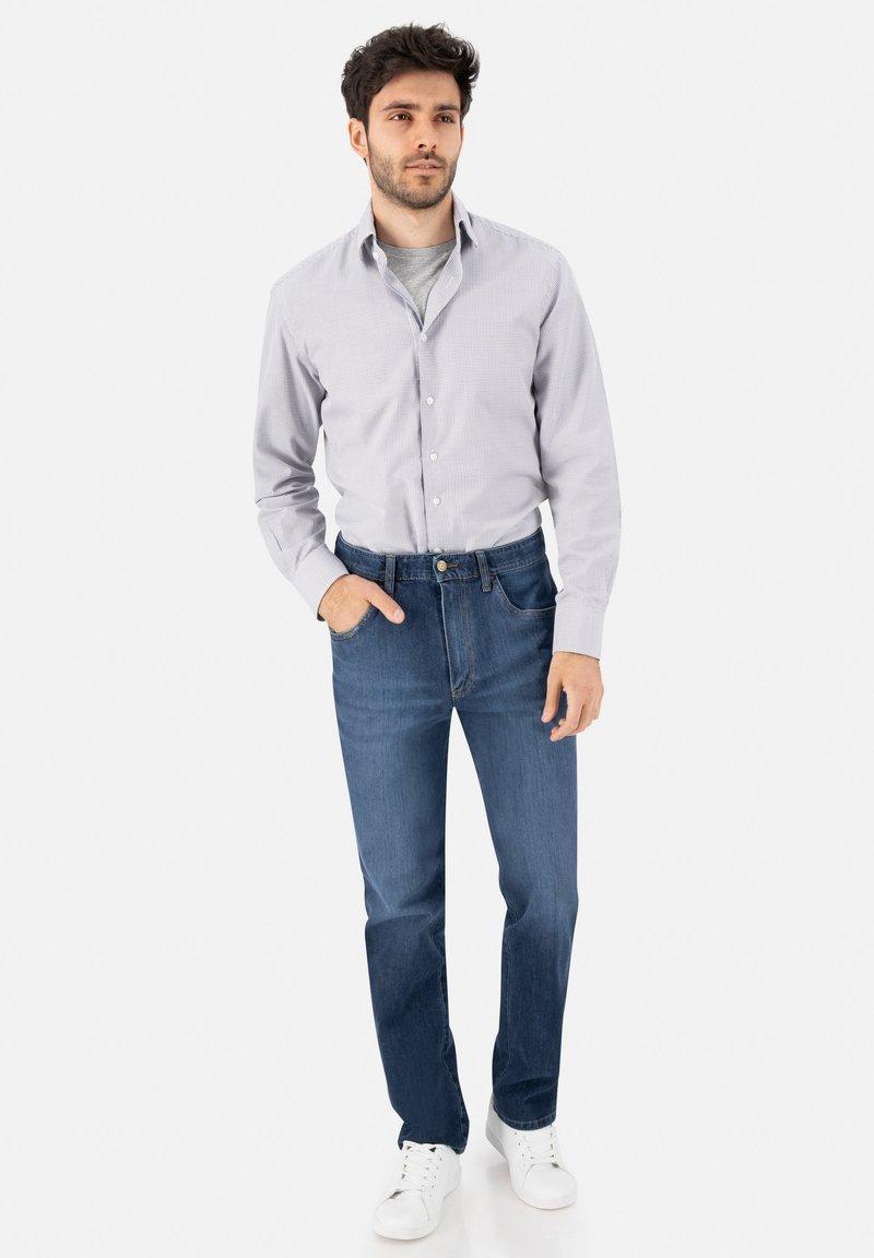 Club of Comfort - Straight leg jeans - mittelblau 943