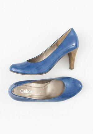 Klassieke pumps - blue