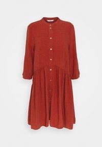 ONLY Petite - ONLCHICAGO LIFE DNMDRESS - Shirt dress - burnt henna - 4