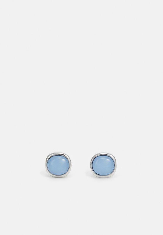 Náušnice - silver-coloured/blue