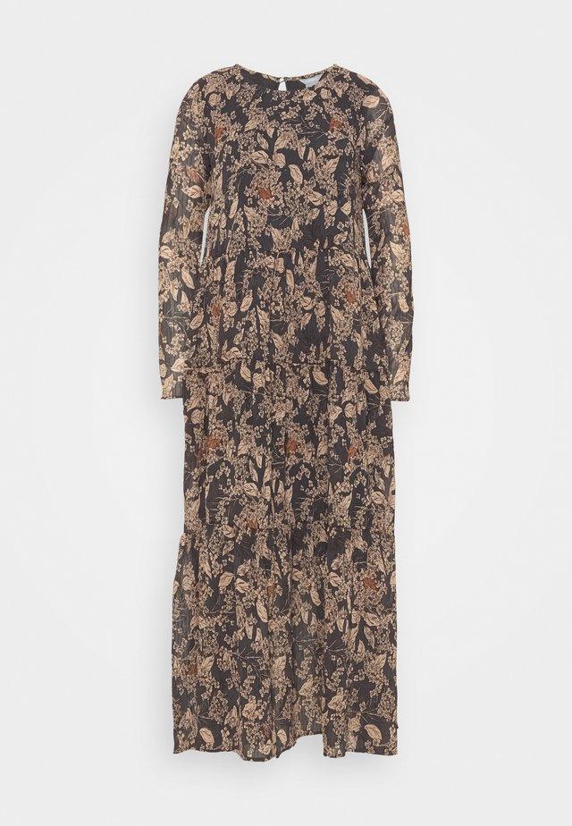 DRESS KRINKLA - Maxi dress - offblack