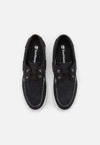 Timberland - UNION WHARF 2.0 EK - Boat shoes - black - 3