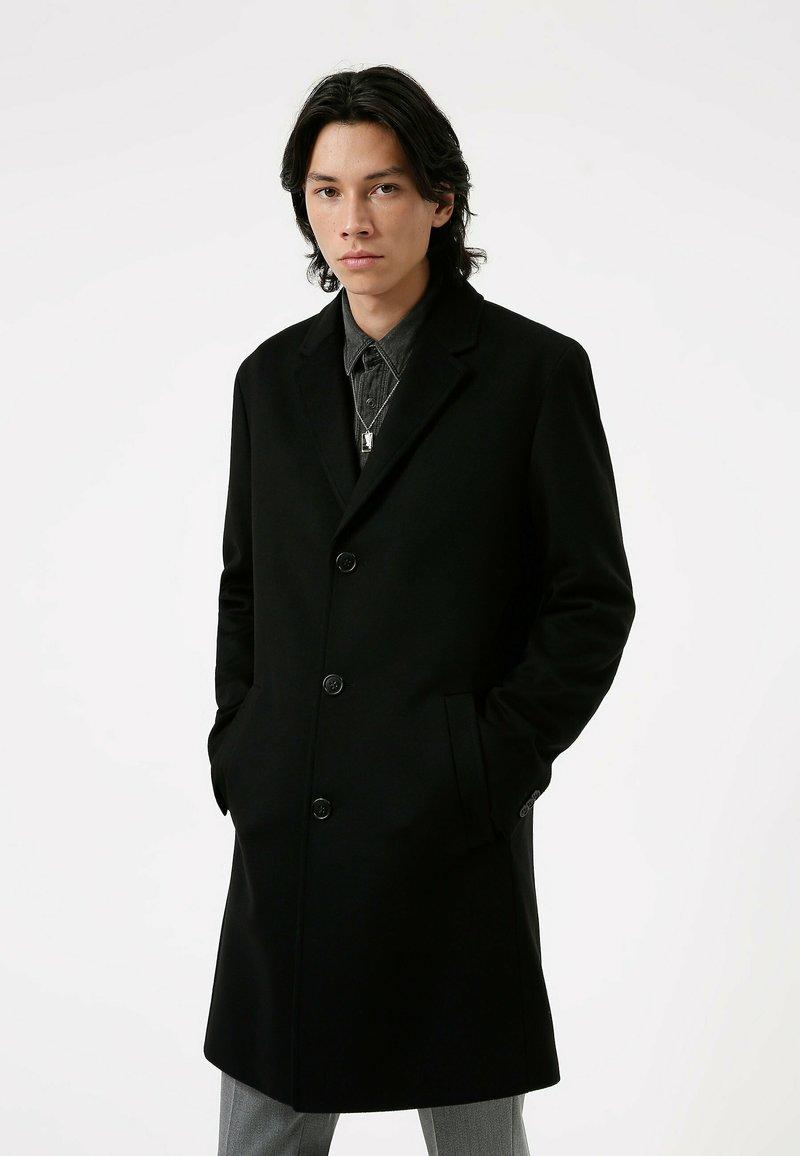 HUGO - MALTE - Classic coat - black