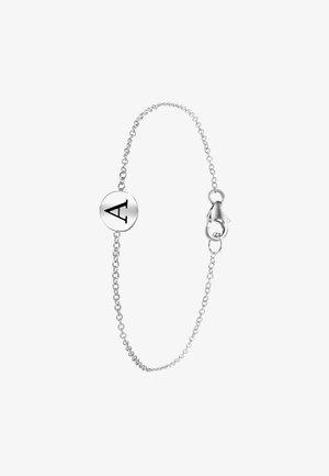 ALFABET - Armband - zilver