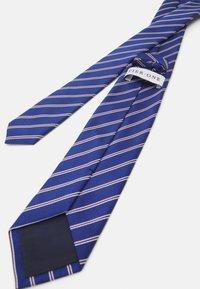 Pier One - Cravatta - dark blue/bordeaux/white - 1