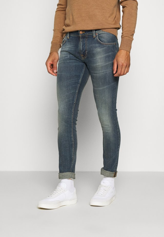 TIGHT TERRY - Slim fit jeans - dark beach