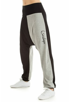 Tracksuit bottoms - schwarz/grey