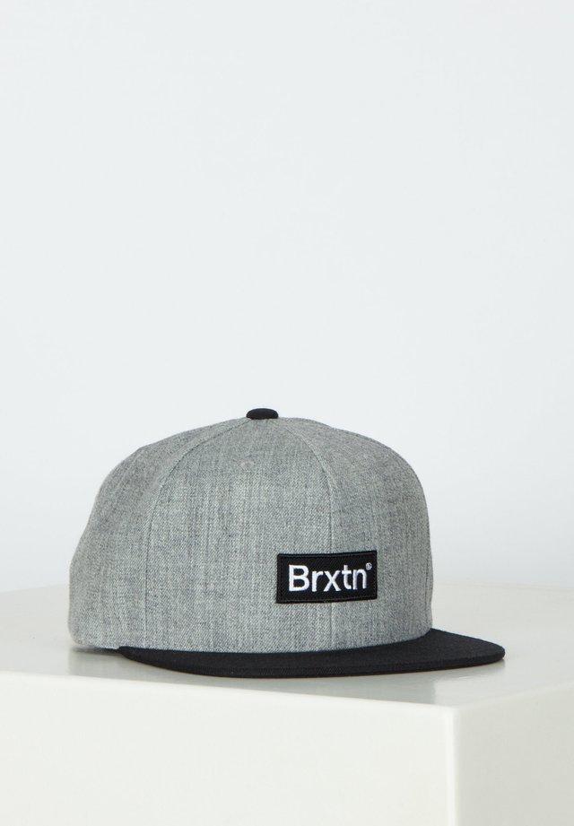 GATE III MP - Cap - heather grey/black