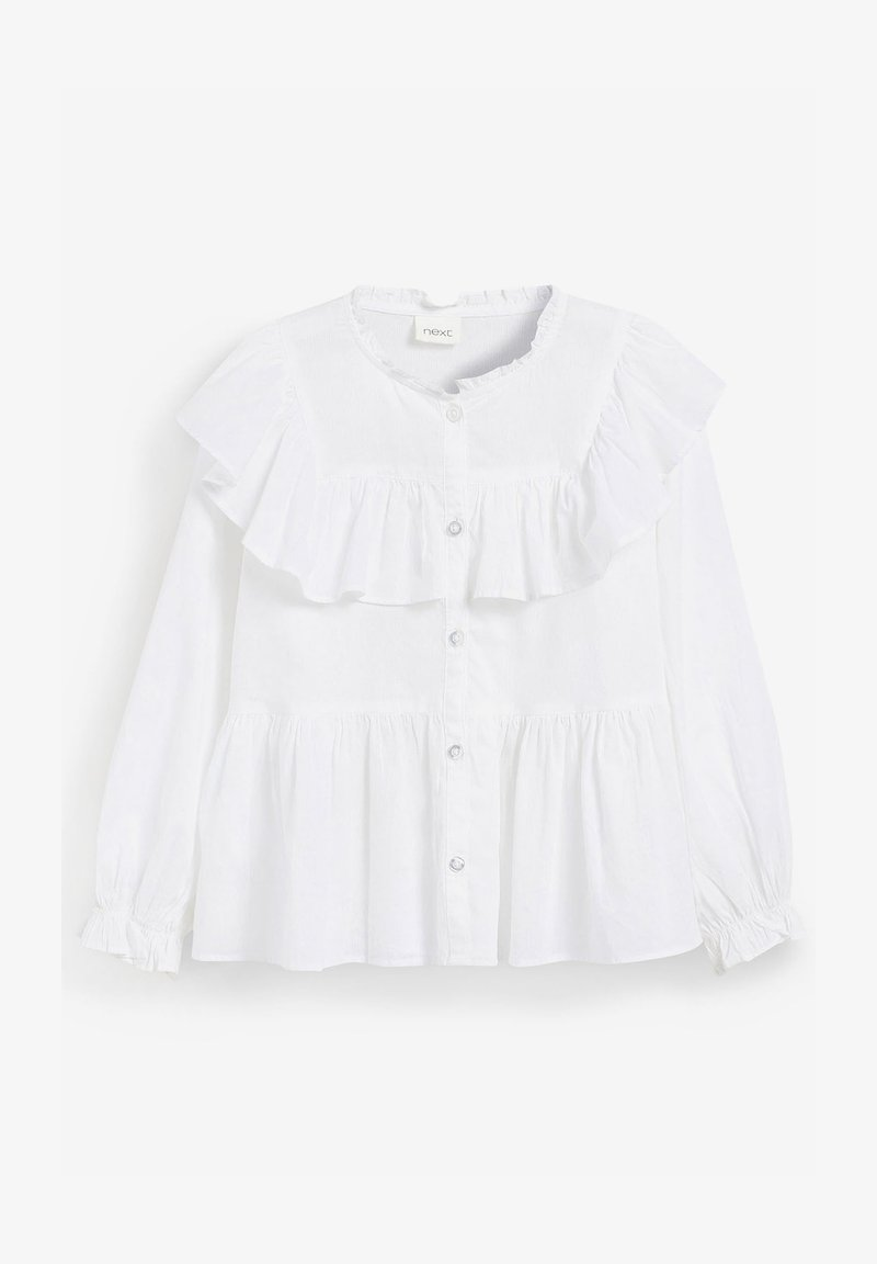 Next - RUFFLE  - Overhemdblouse - white