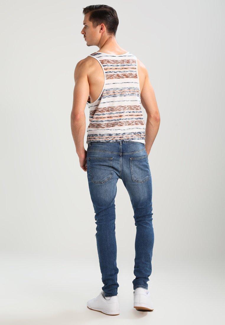 YOURTURN Jeans Skinny Fit - dark blue denim  Heren jeans ChXlL