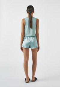 PULL&BEAR - Haut de pyjama - light blue - 2