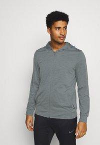 Nike Performance - Training jacket - smoke grey/iron grey - 0